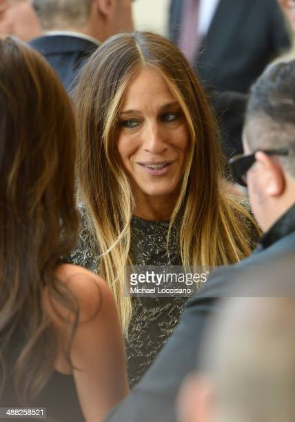 Sarah Jessica Parker attends the Anna Wintour Costume Center Grand Opening at the Metropolitan Museum of Art on May 5 2014 in New York City