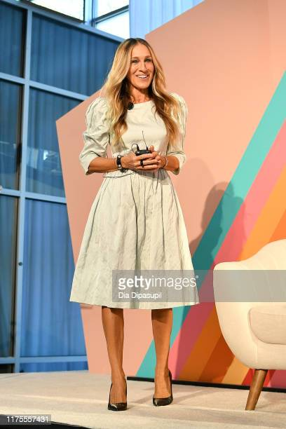 Sarah Jessica Parker attends the #BlogHer19 Creators Summit at Brooklyn Expo Center on September 18 2019 in New York City