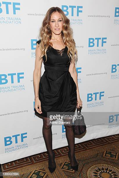 Sarah Jessica Parker attends the Brain Trauma Foundation 2011 gala at The Pierre Hotel on December 5 2011 in New York City