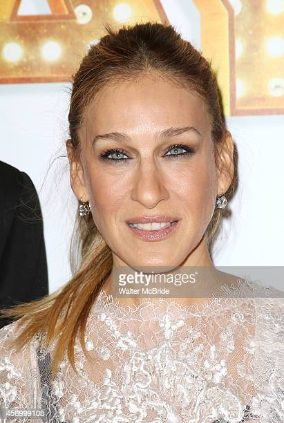 Sarah Jessica Parker attends the Broadway Opening Night Performance of 'It's Only A Play' at the Gerald Schoenfeld Theatre on October 9 2014 in New...