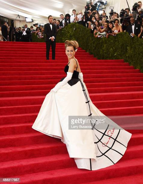 Sarah Jessica Parker attends the Charles James Beyond Fashion Costume Institute Gala at the Metropolitan Museum of Art on May 5 2014 in New York City