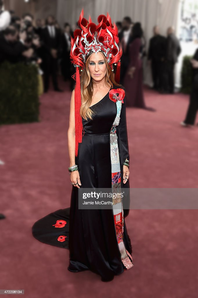 Sarah Jessica Parker attends the 'China: Through The Looking Glass' Costume Institute Benefit Gala at the Metropolitan Museum of Art on May 4, 2015 in New York City.
