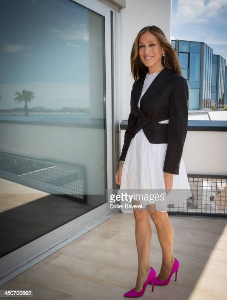 Sarah Jessica Parker attends the Cosmopolitan Seminar at the 2014 Cannes Lions on June 16 2014 in Cannes France