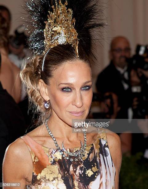 Sarah Jessica Parker attends the Costume Institute Gala for the 'PUNK Chaos to Couture' exhibition at the Metropolitan Museum of Art in New York City...
