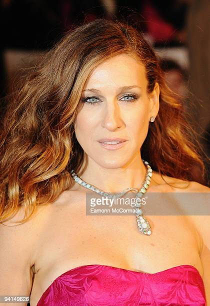 Sarah Jessica Parker attends the Gala Premiere of 'Did You Hear About The Morgans' at Odeon Leicester Square on December 8 2009 in London England