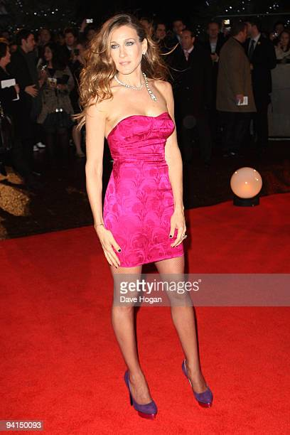 Sarah Jessica Parker attends the gala premiere of Did You Hear About The Morgans held at the Odeon Leicester Square on December 8 2009 in London...