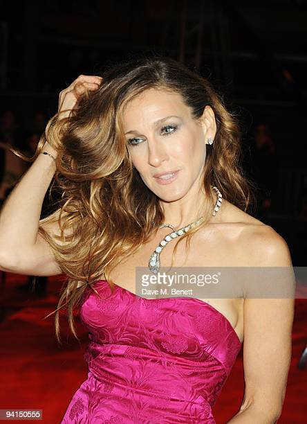 Sarah Jessica Parker attends the Gala Premiere of 'Did You Hear About The Morgans' at the Odeon Leicester Square on December 8 2009 in London England