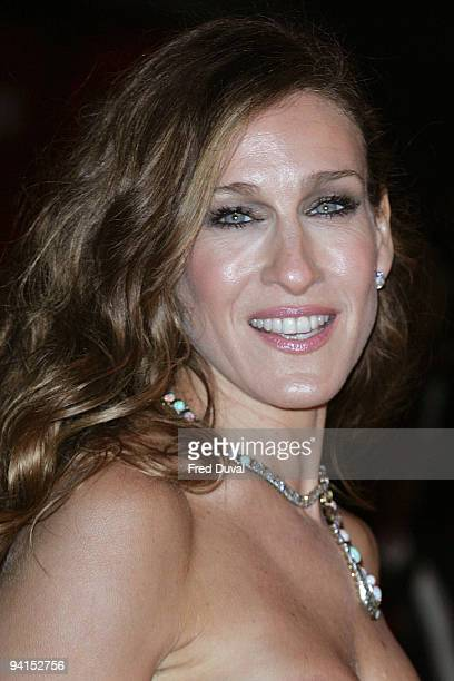 Sarah Jessica Parker attends the Gala Premiere of Did You Hear About The Morgans at Odeon Leicester Square on December 8 2009 in London England