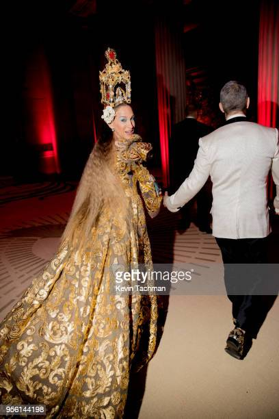 Sarah Jessica Parker attends the Heavenly Bodies: Fashion & The Catholic Imagination Costume Institute Gala at The Metropolitan Museum of Art on May...