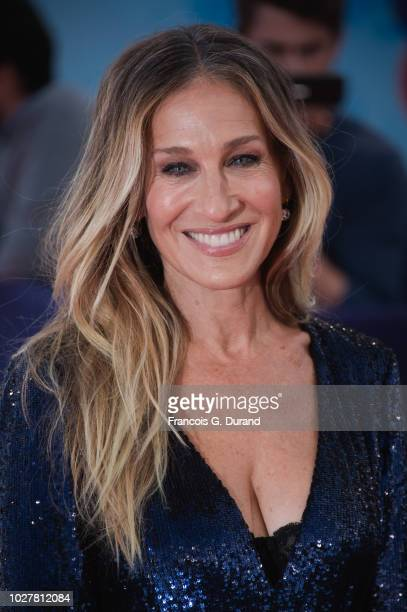 """Sarah Jessica Parker attends the """"Here And Now"""" Premiere during the 44th Deauville American Film Festival on September 6, 2018 in Deauville, France."""