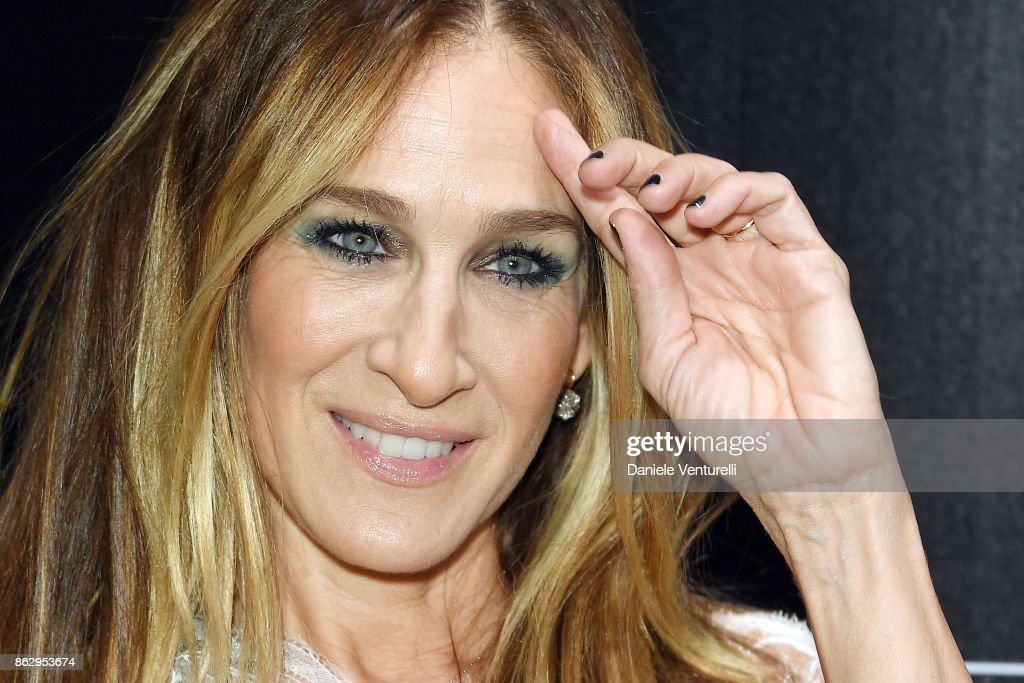 Sarah Jessica Parker attends the Intimissimi Grand Opening on October 18, 2017 in New York, United States.