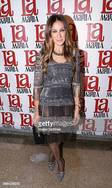 Sarah Jessica Parker attends the La Mama Fall 2015 Gala at La Mama Theatre on November 2 2015 in New York City