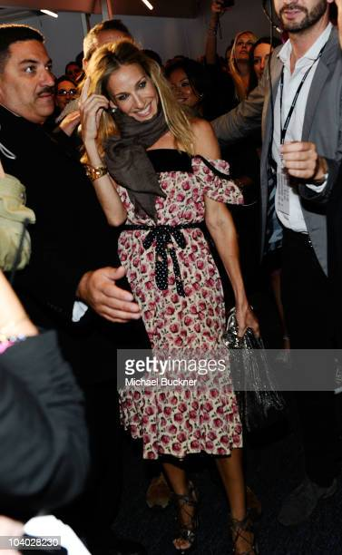 Sarah Jessica Parker attends the MercedesBenz Fashion Week Spring 2011 Official Coverage at Lincoln Center on September 12 2010 in New York City