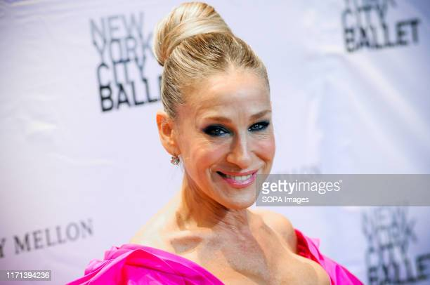 Sarah Jessica Parker attends the NYC Ballet Fall Fashion Gala held at Lincoln Center in New York City.
