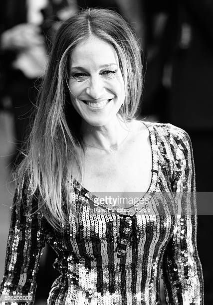 Sarah Jessica Parker attends the opening night of Charlie And The Chocolate Factory at Theatre Royal