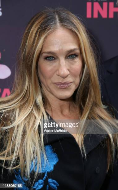 """Sarah Jessica Parker attends the Opening Night performance of """"The Inheritance"""" at the Barrymore Theatre on November 17, 2019 in New York City."""