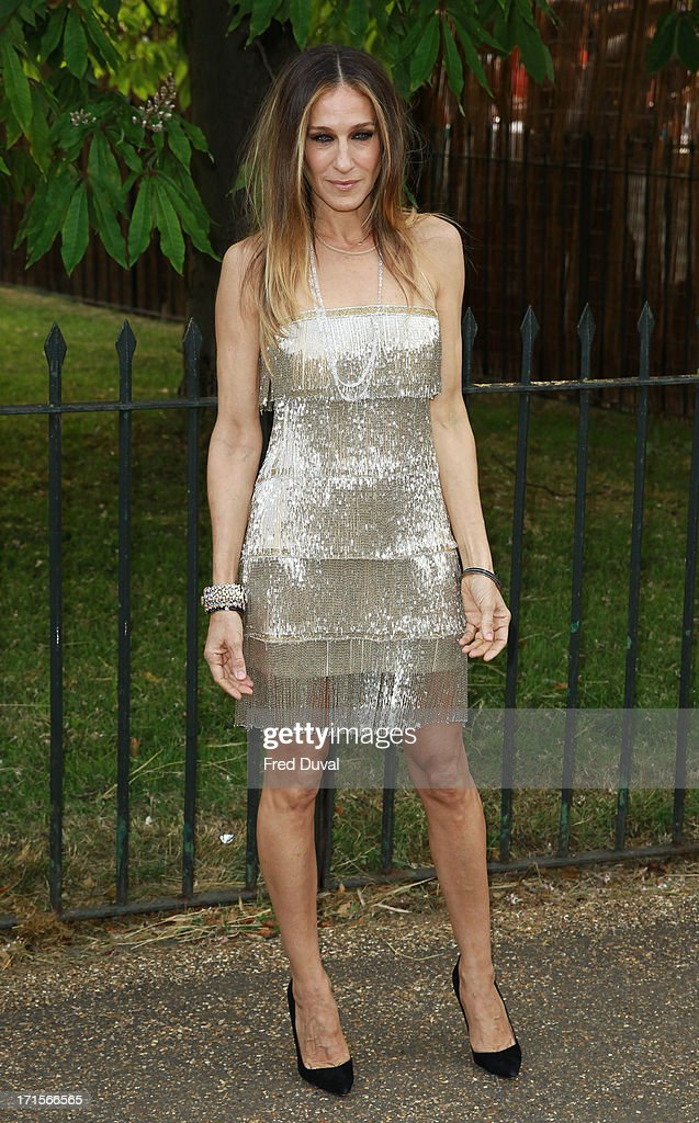 Sarah Jessica Parker attends The Serpentine Gallery Summer Party at The Serpentine Gallery on June 26, 2013 in London, England.