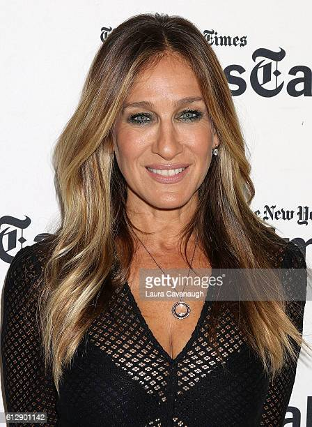 Sarah Jessica Parker attends TimesTalks With Sarah Jessica Parker at NYU Skirball Center on October 5 2016 in New York City