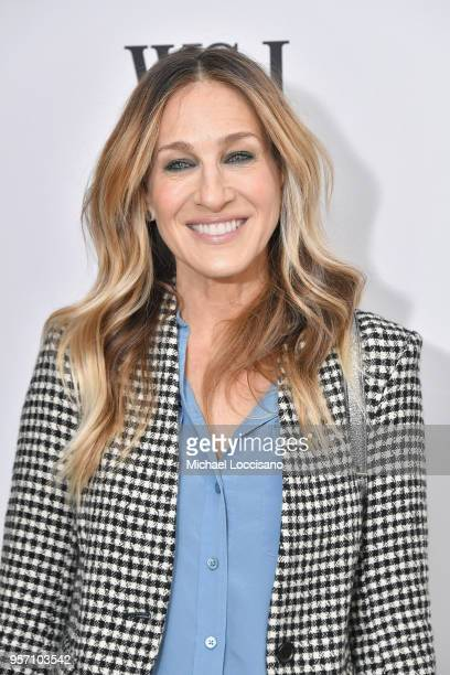 Sarah Jessica Parker attends WSJ The Future of Everything Festival at Spring Studios on May 10 2018 in New York City