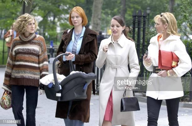 Sarah Jessica Parker Cynthia Nixon Kristin Davis and Kim Cattrall