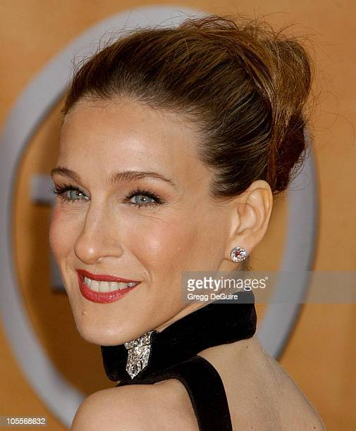 Sarah Jessica Parker during 11th Annual Screen Actors Guild Awards Arrivals at Shrine Auditorium in Los Angeles California United States