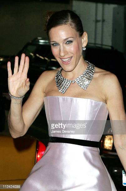 """Sarah Jessica Parker during Neil Simon's """"The Odd Couple"""" Broadway Opening Night at Brooks Atkinson Theater in New York City, New York, United States."""