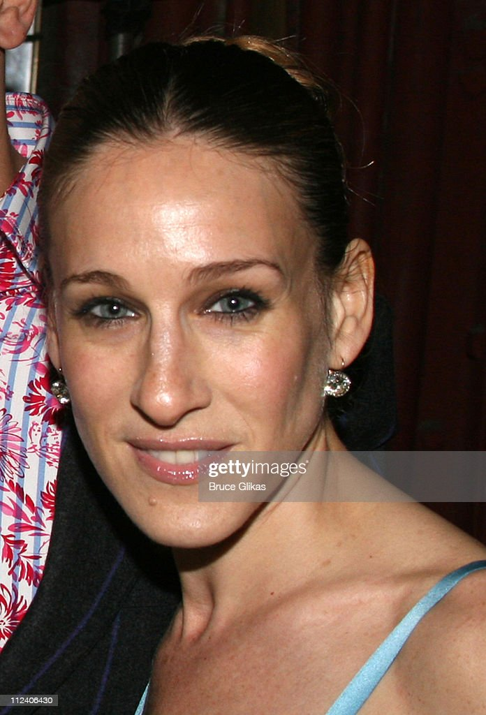 Sarah Jessica Parker during 'Rent' Celebrates 10th Anniversary on Broadway - April 24, 2006 at The Nederlander Theater in New York, New York, United States.