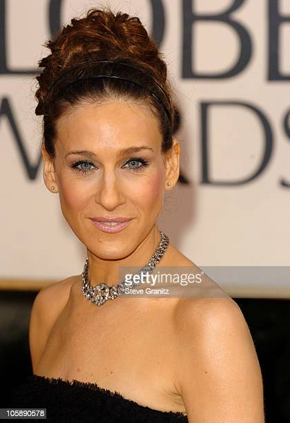 Sarah Jessica Parker during The 63rd Annual Golden Globe Awards Arrivals at Beverly Hilton Hotel in Beverly Hills California United States
