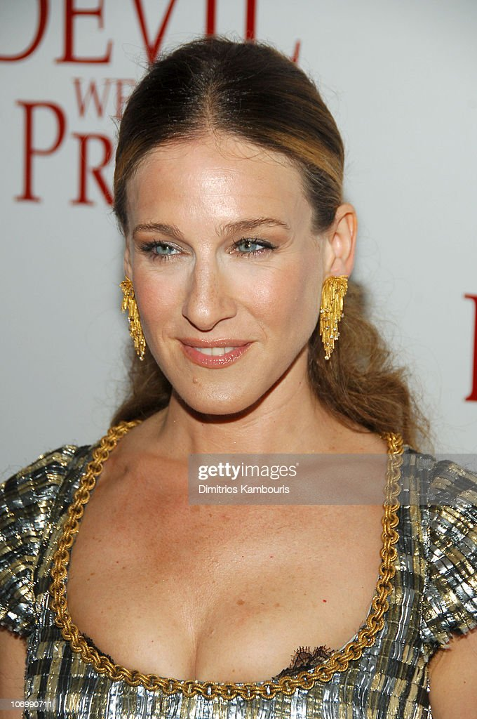 Sarah Jessica Parker seen on the set of And Just Like