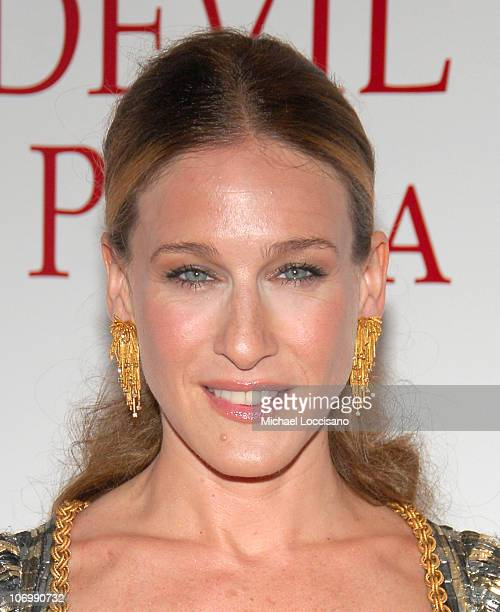 Sarah Jessica Parker during 'The Devil Wears Prada' New York Premiere Arrivals at AMC Loews Lincoln Square in New York City New York United States