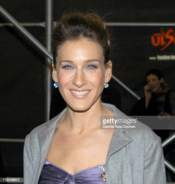 Sarah Jessica Parker during The Foreigner Opening Night Arrivals at Laura Pels Theatre at the Harold and Miriam Steinberg Center in New York City New...