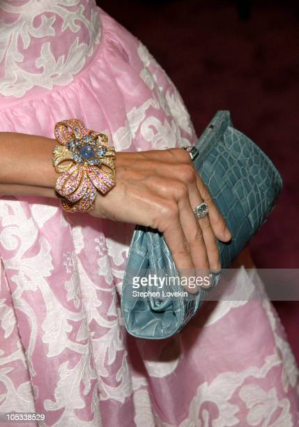 Sarah Jessica Parker during The Fragrance Foundation's 32nd Annual Fifi Awards Arrivals at Hammerstein Ballroom in New York City New York United...
