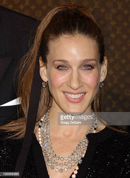 Sarah Jessica Parker during The Louis Vuitton United Cancer Front Gala at Universal Studios in Universal City California United States
