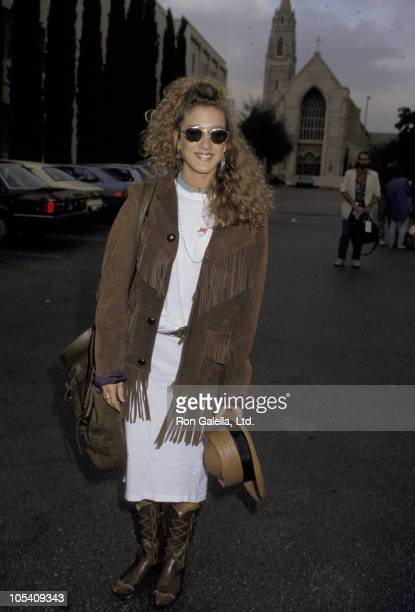 Sarah Jessica Parker during Vote Yes on 65 at Wrimar Telepictures in Los Angeles California United States