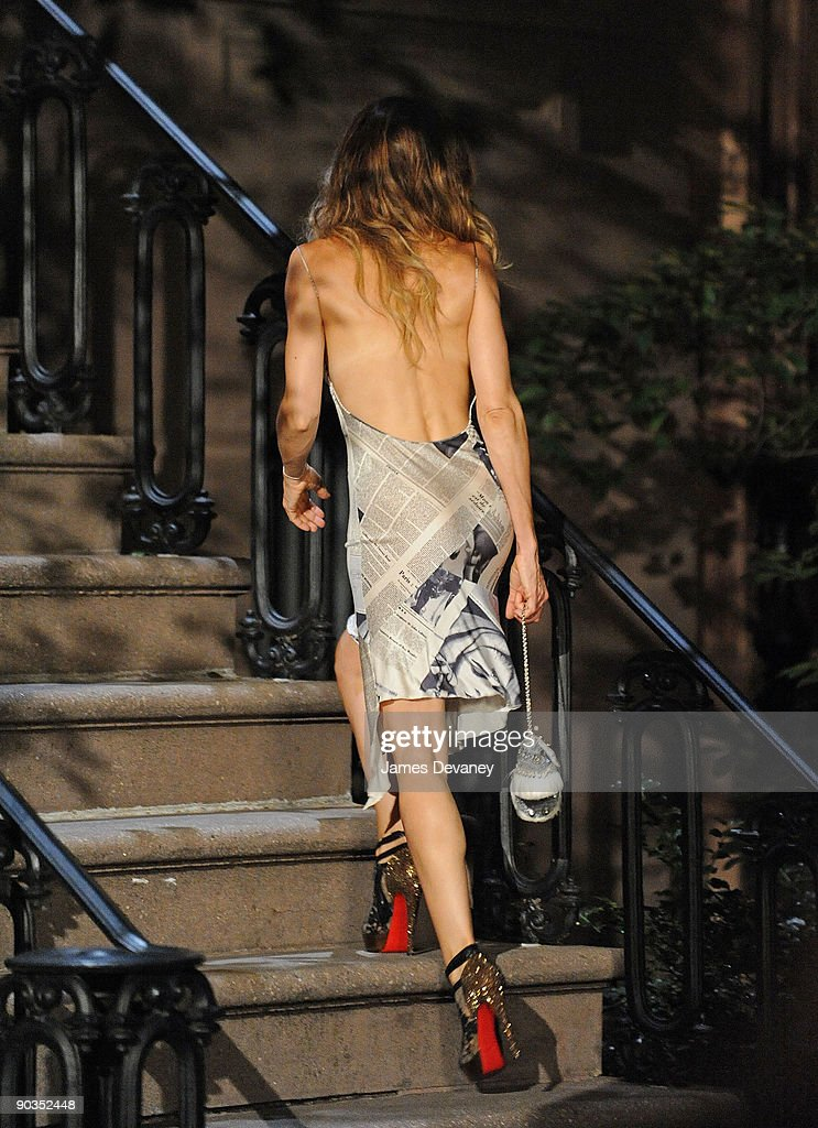 """On Location For """"Sex And The City 2"""" - September 4, 2009 : News Photo"""