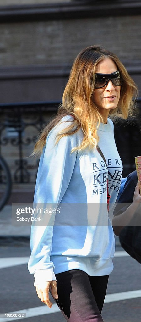 Sarah Jessica Parker in the West Vilage on May 10, 2013 in New York City.