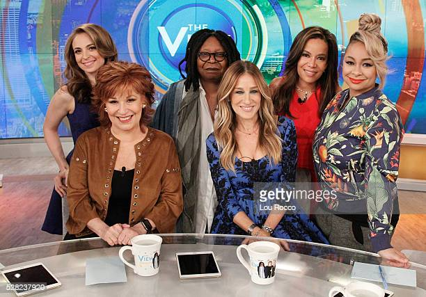 THE VIEW Sarah Jessica Parker is a guest on THE VIEW 5/4/16 airing on the Walt Disney Television via Getty Images Television Network SYMONE