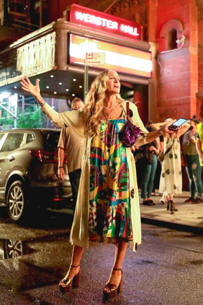 NY: Celebrity Sightings In New York City - July 17, 2021