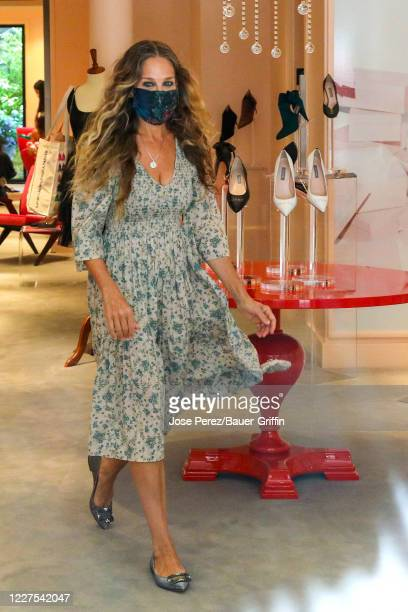 Sarah Jessica Parker is seen inside SJP by Sarah Jessica Parker store on July 15, 2020 in New York City.