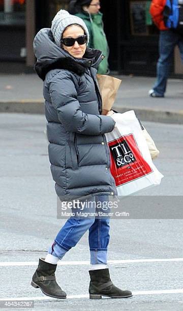 Sarah Jessica Parker is seen on December 08 2013 in New York City