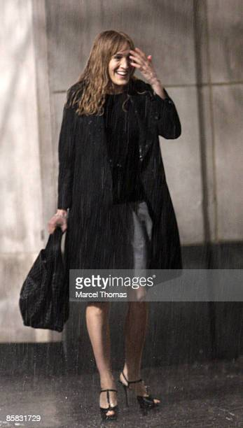 Sarah Jessica Parker is seen on the streets of Manhattan on April 6 2009 in New York City