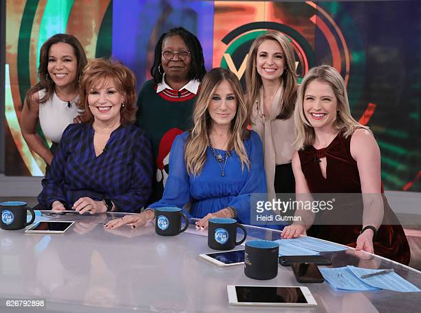 THE VIEW Sarah Jessica Parker is the guest today Monday November 28 2016 on Walt Disney Television via Getty Images's The View The View airs...