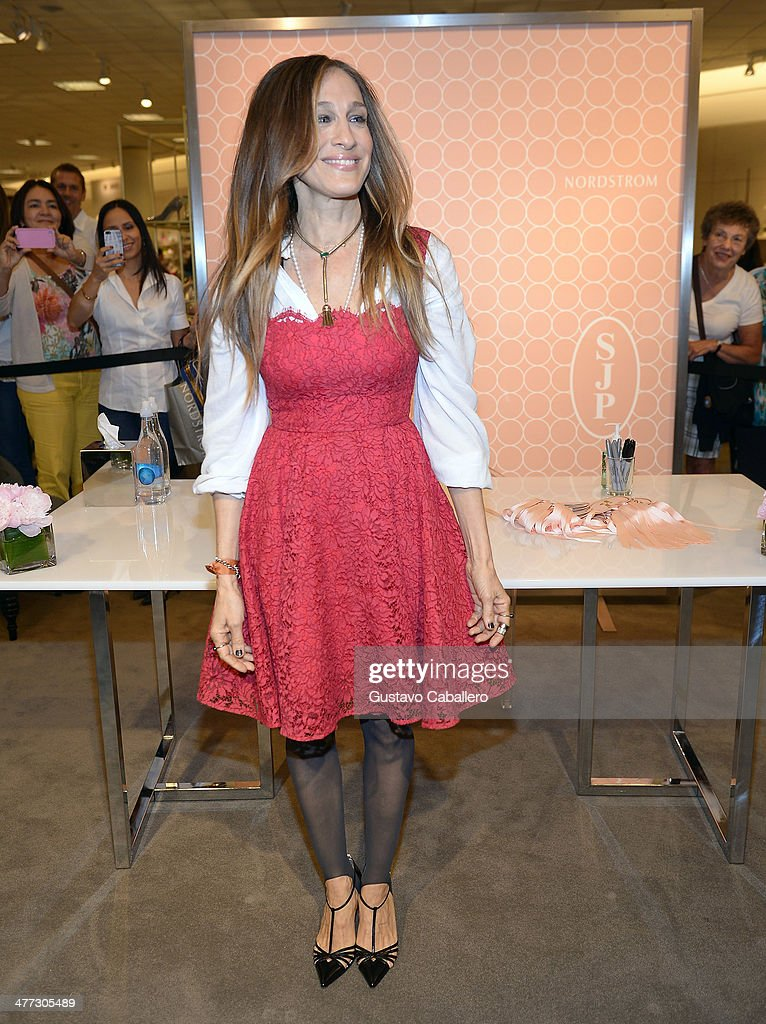 Sarah Jessica Parker Launches Shoe Line At Nordstrom : News Photo