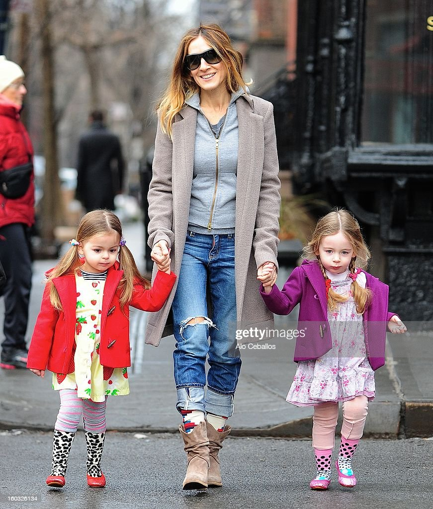 Sarah Jessica Parker Sighting In New York City - January 29, 2013