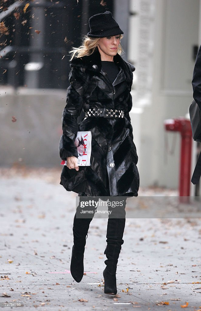 Sarah Jessica Parker On Location For 'Sex and The City: The Movie' - October 5, 2007 : News Photo