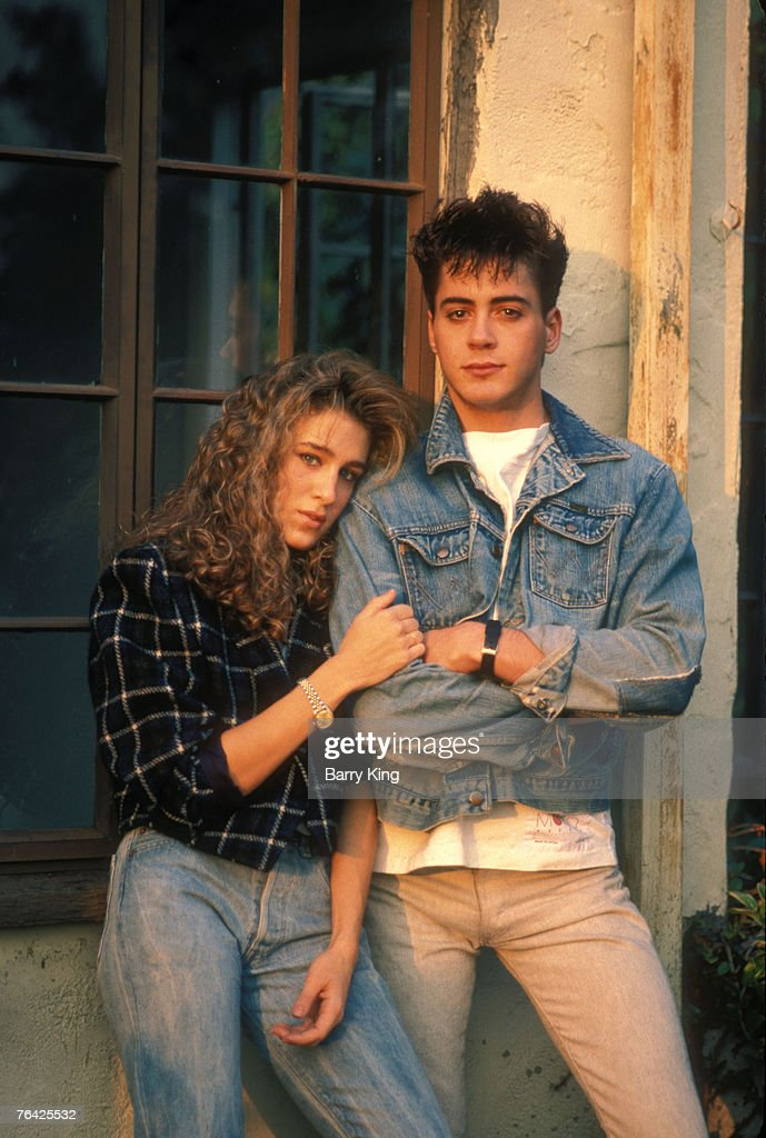 Robert Downey Jr. & Sarah Jessica Parker, Self Assignment, December 1984