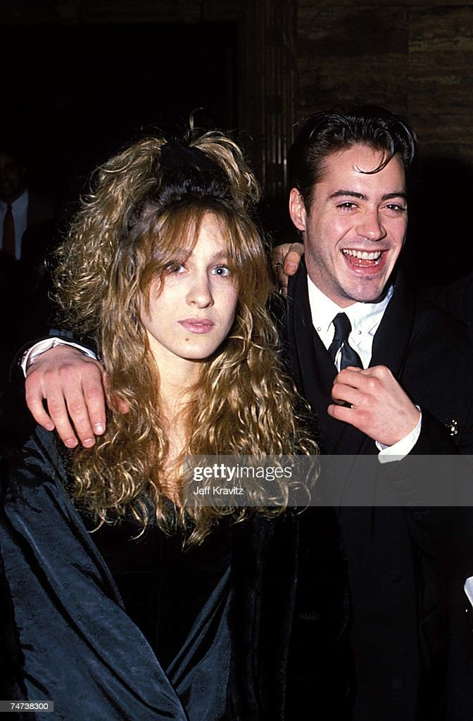 Sarah Jessica Parker & Robert Downey Jr at the 1988 Young Artists Unite at in Los Angeles, California.