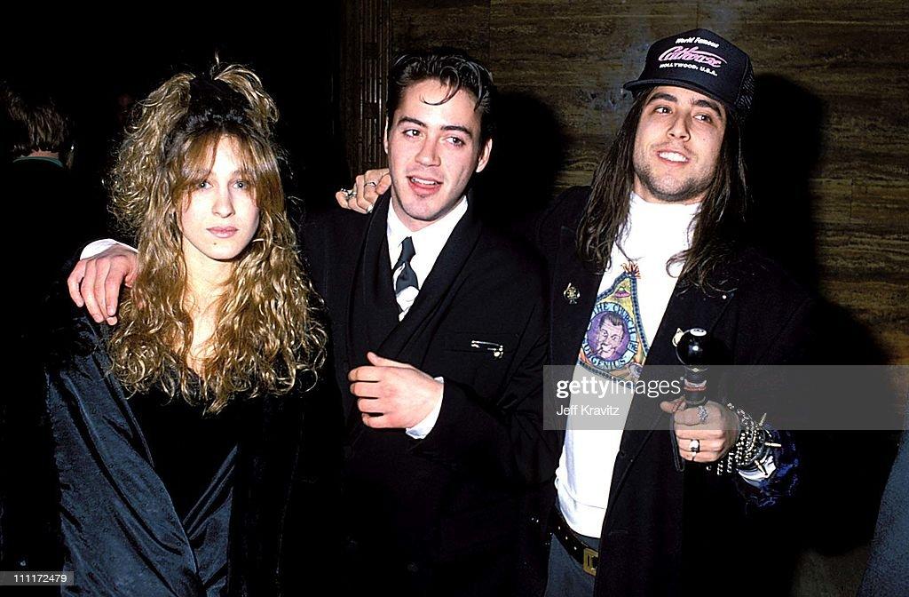 Sarah Jessica Parker, Robert Downey Jr & Josh Richman