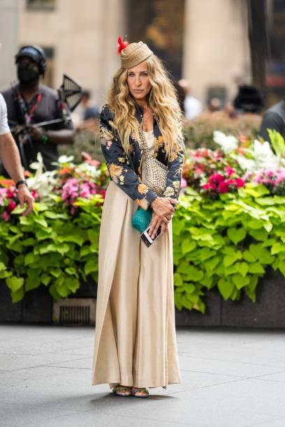 NY: Celebrity Sightings In New York City - July 26, 2021