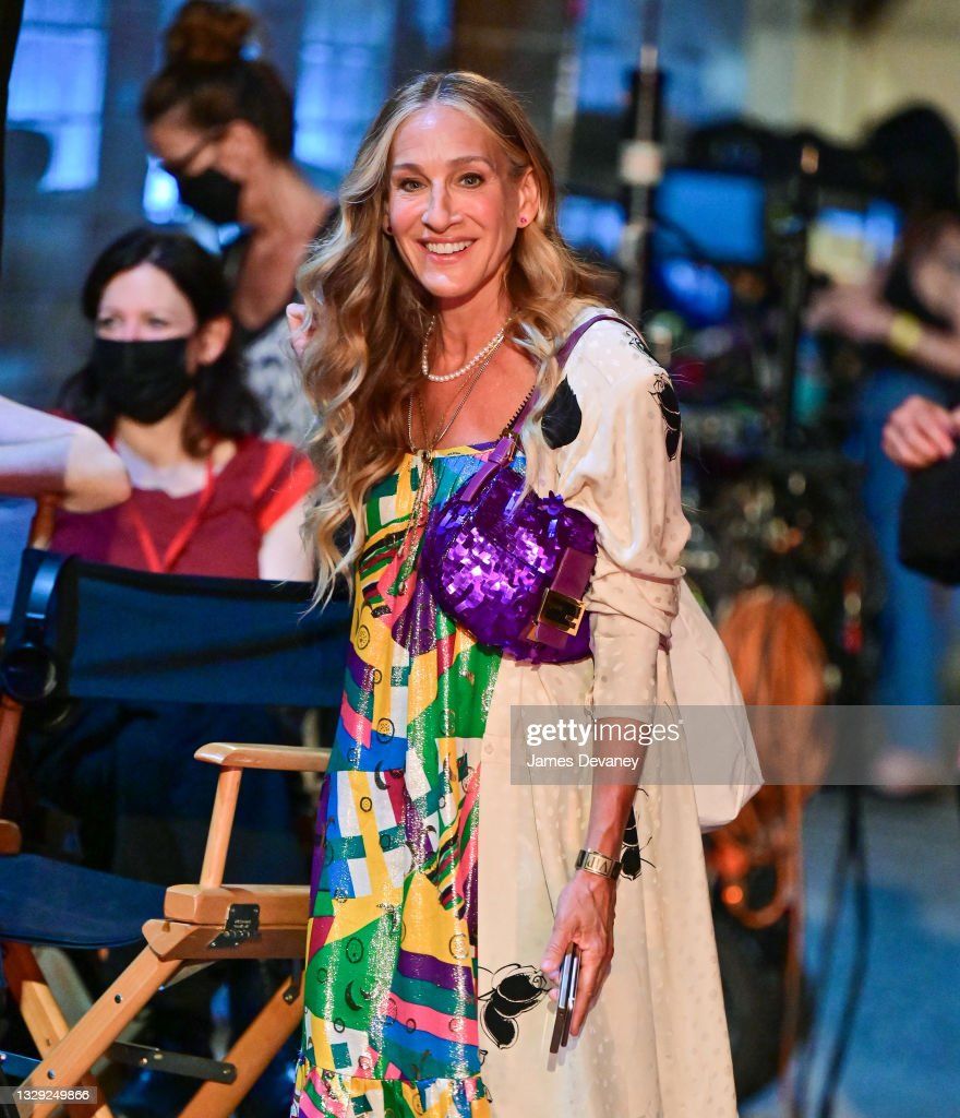 SARAH JESSICA PARKER at Her Shoe Store in New York 01/24